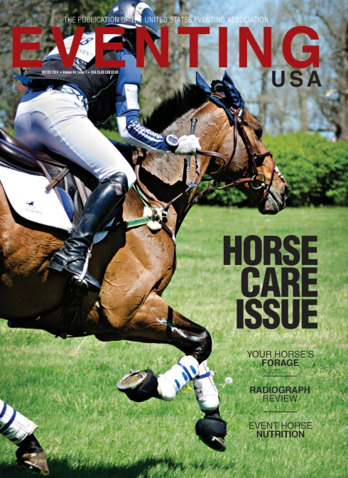 Eventing USA 2014 August Cover